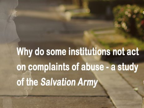 Salvation Army Abuse